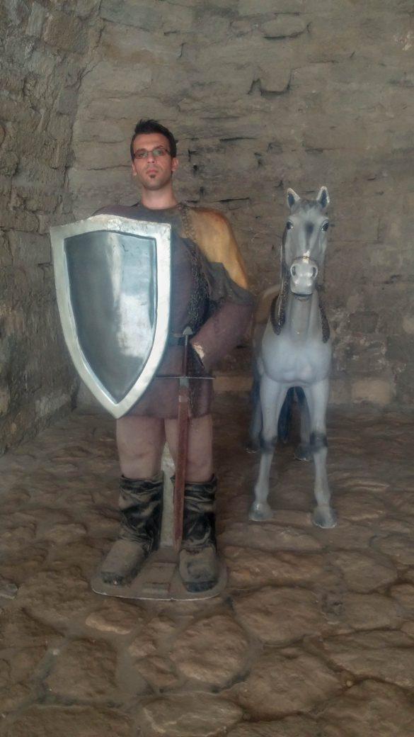 Аз като рицар в крепост Баба Вида