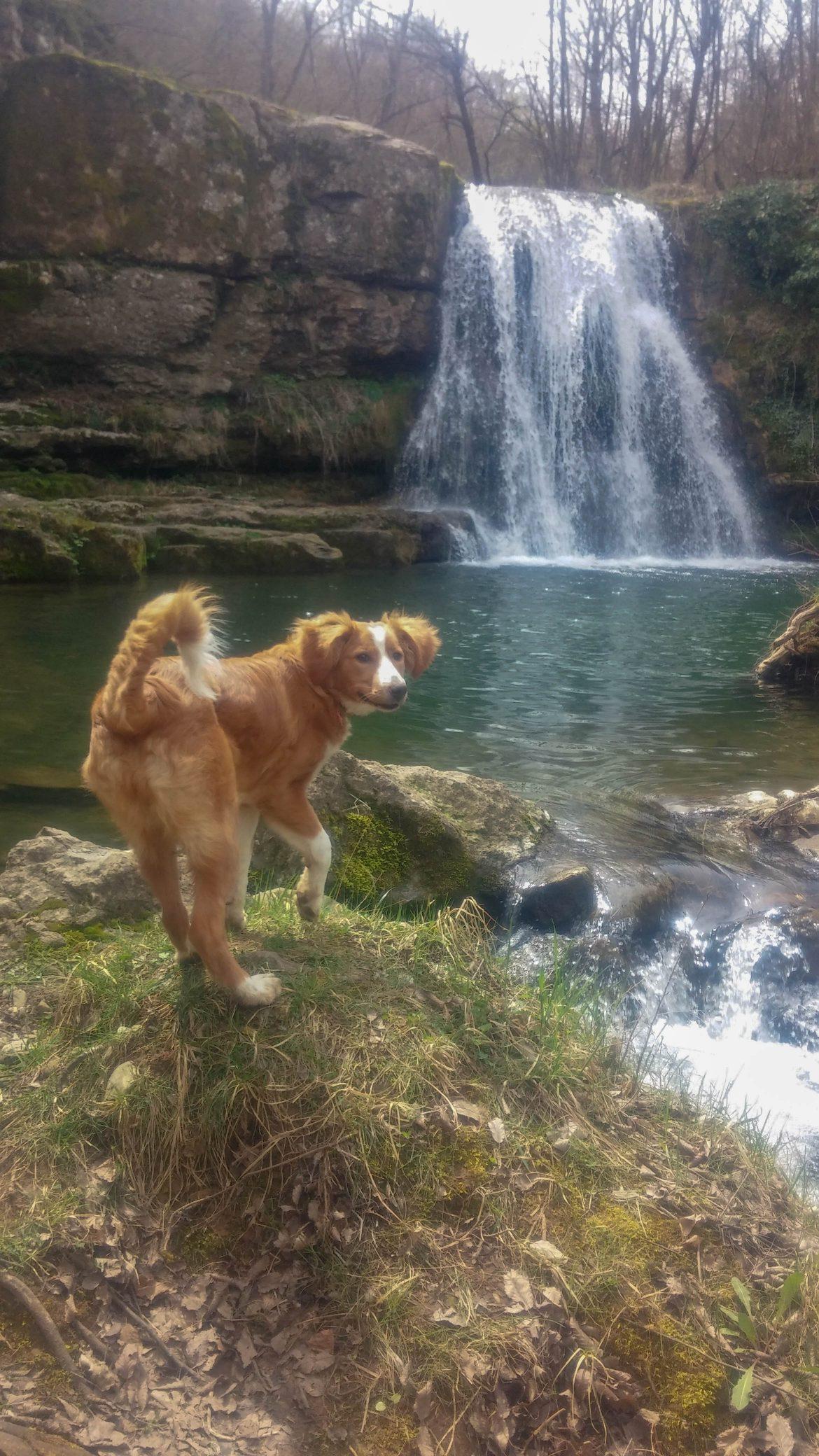 Душе и водопад