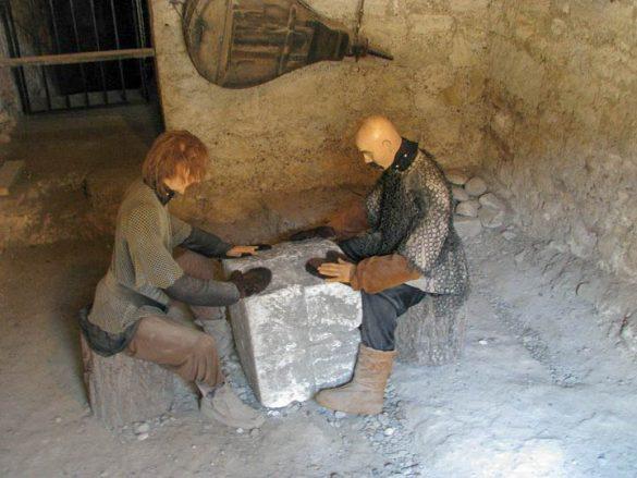 Сцена от живота в крепост Баба Вида