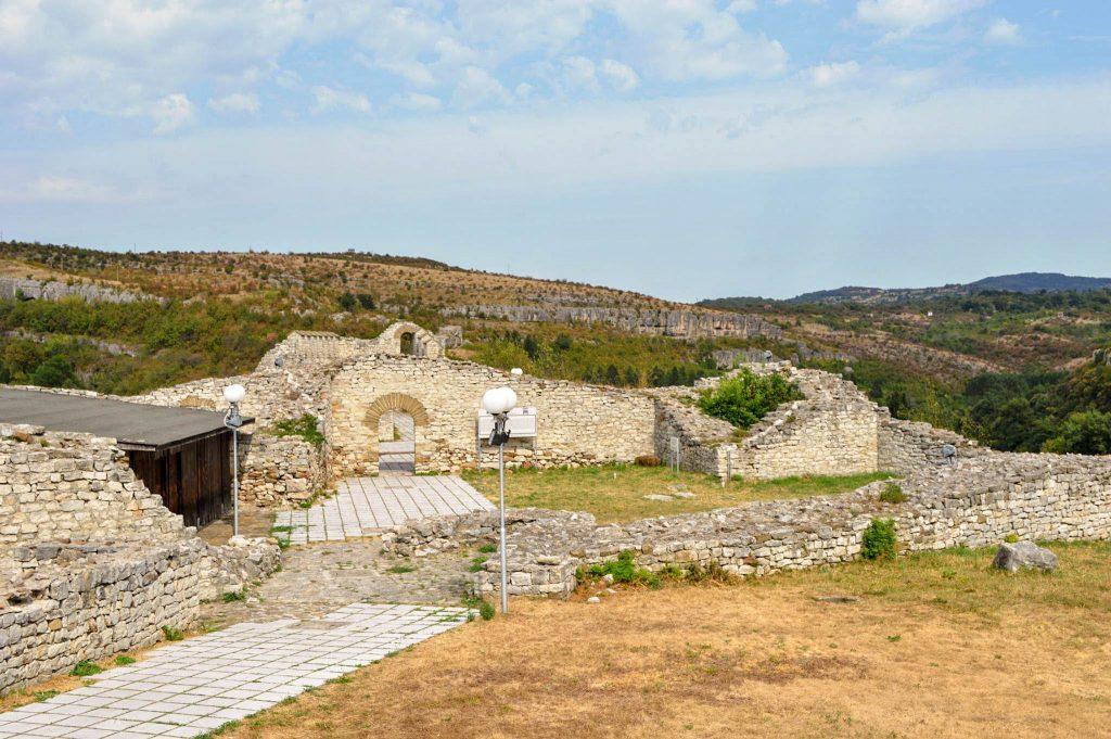 Крепост Хисаря от високо