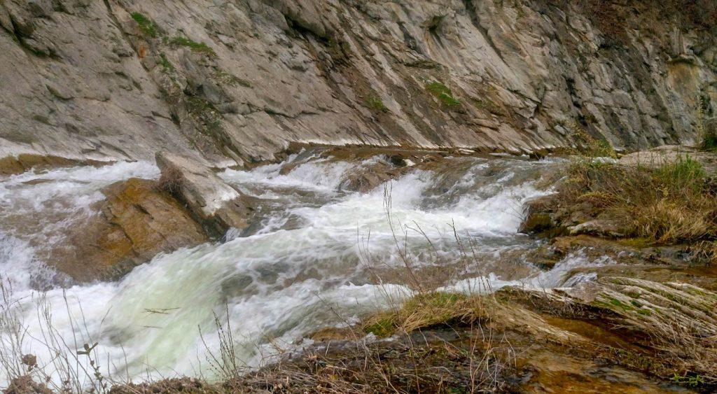 Горен пад на Капиновски водопад